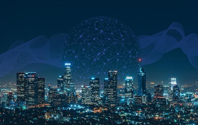připojení a chytré sítě
