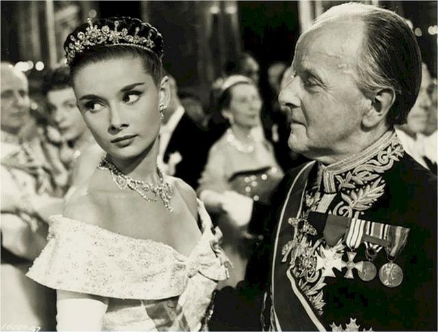Audrey Hepburn s mužem