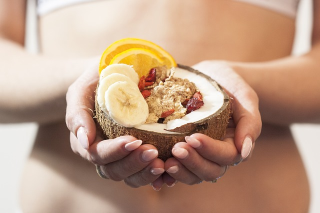 zdravý kokosový ořech